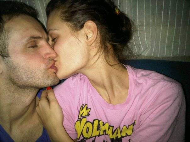 Sorin Brotnei, alarturi de iubita lui, Daniela Aciu, pe vremea cand erau un cuplu fericit