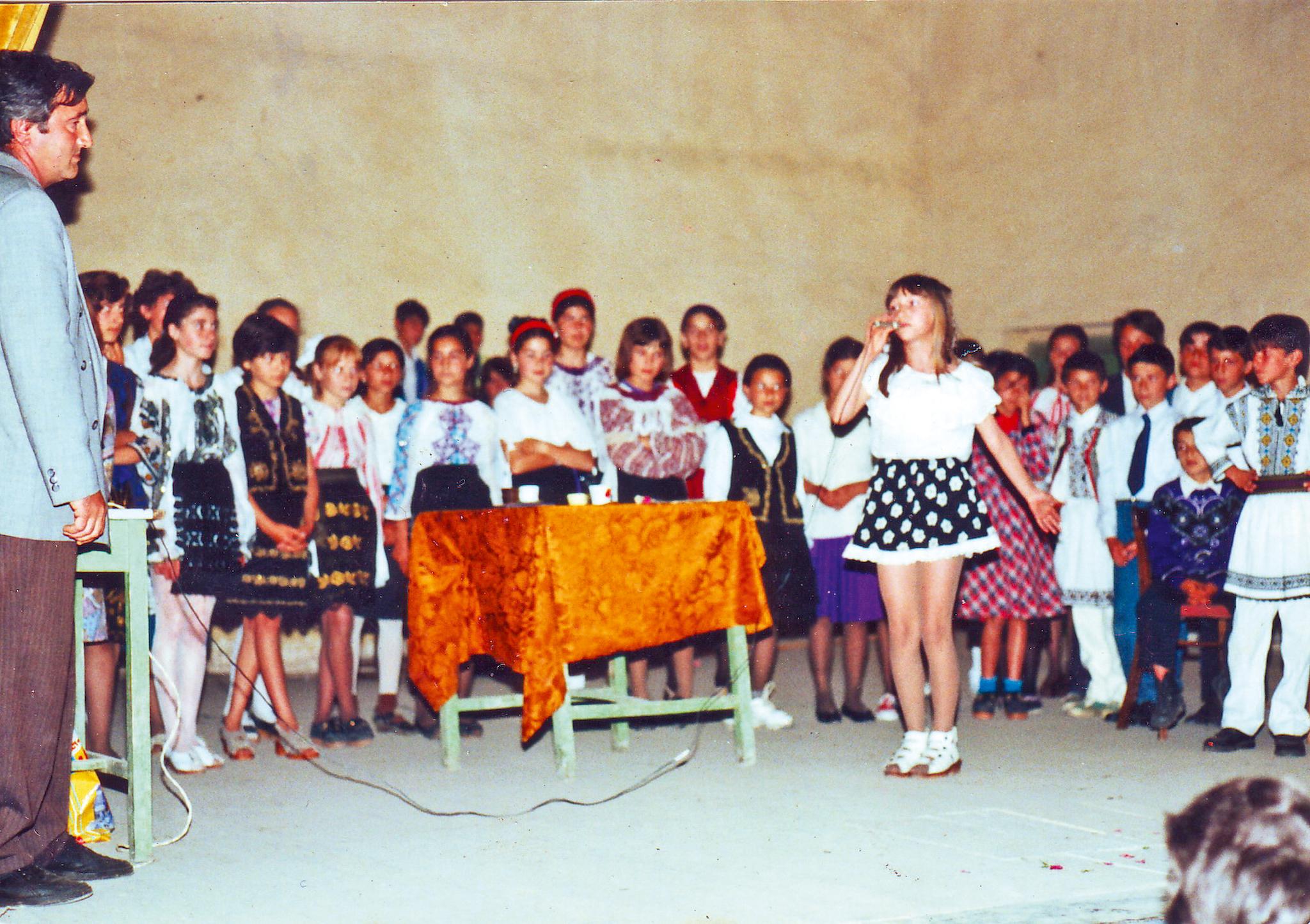 Adela a castigat primul premiu in muzica la varsta de 12 ani