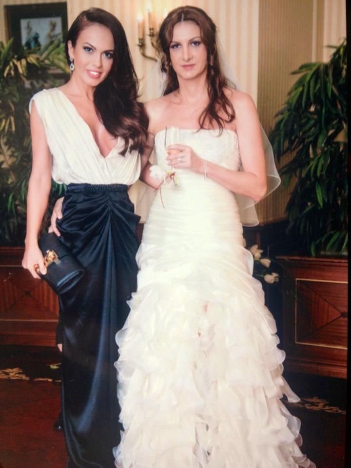 Monica a fost la nunta surorii iubitului ei