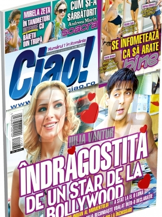 Revista Ciao! a publicat in premiera, inca din septembrie 2011, detalii ale idilei dintre Vantur si Khan