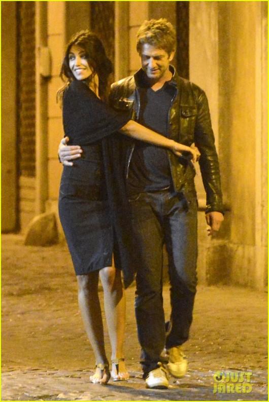 Madalina Ghenea si Gerard Butler