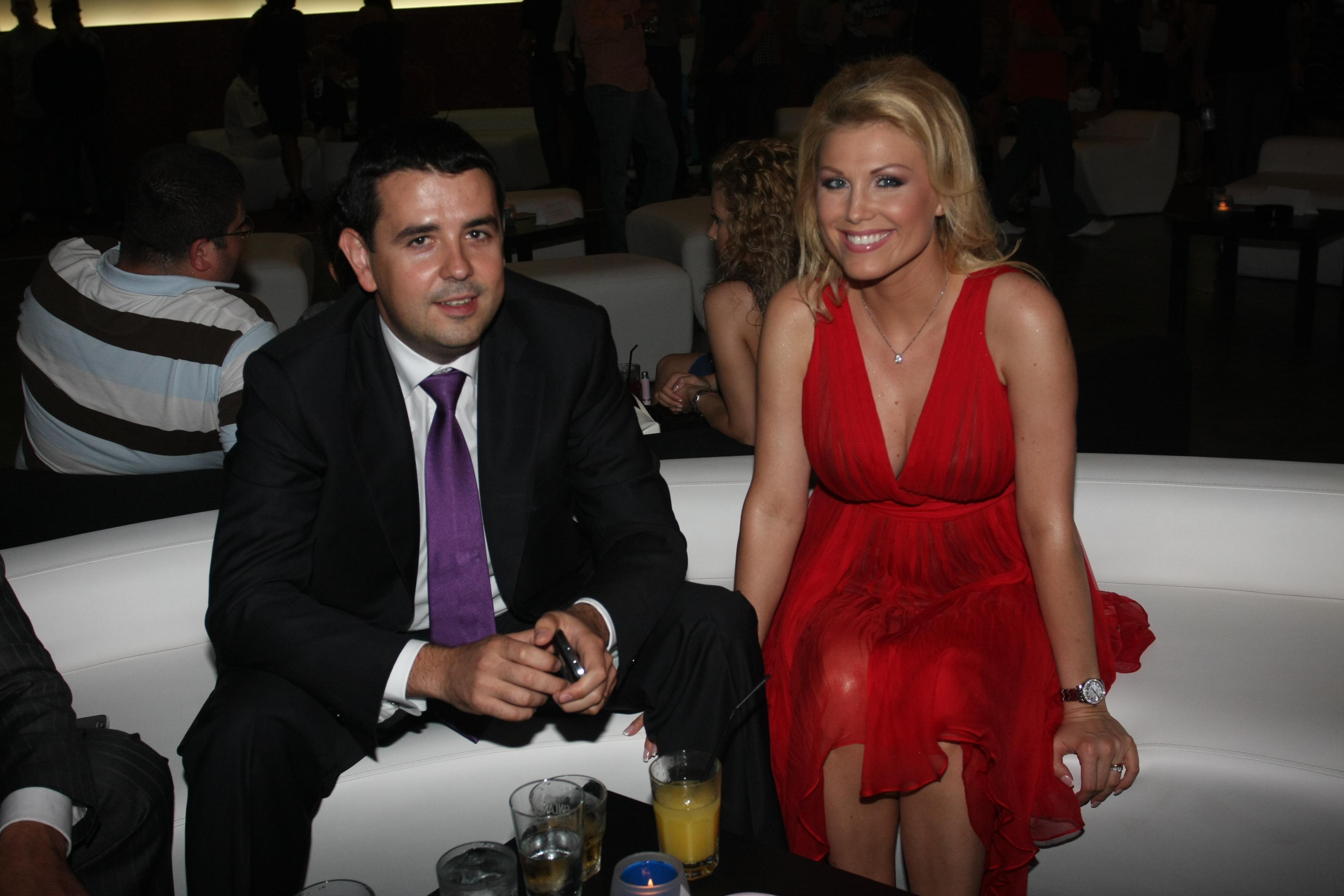 Cristina Rus si sotul