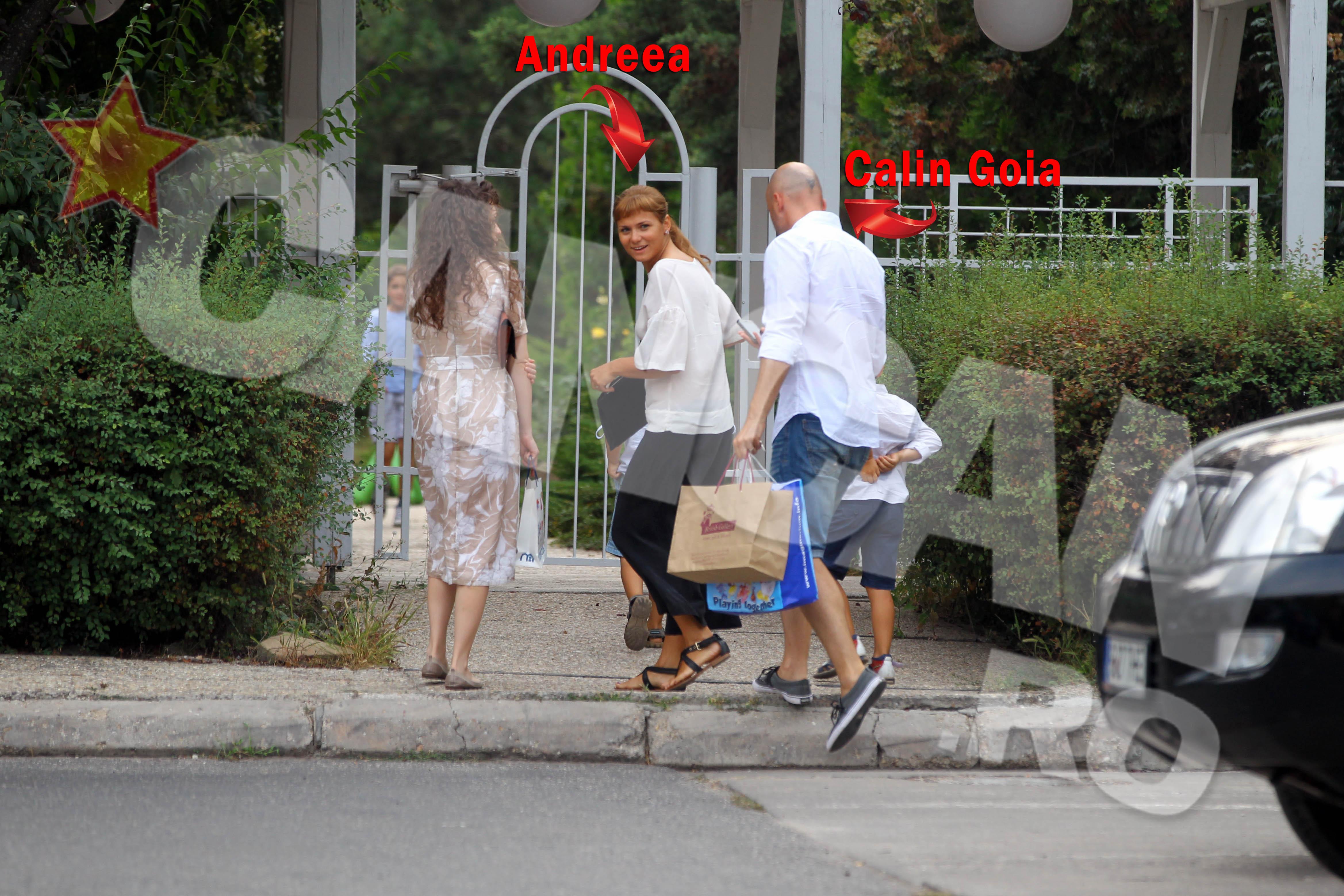 Prezenta destul de rara, Andreea Goia prefera sa mentina discretia