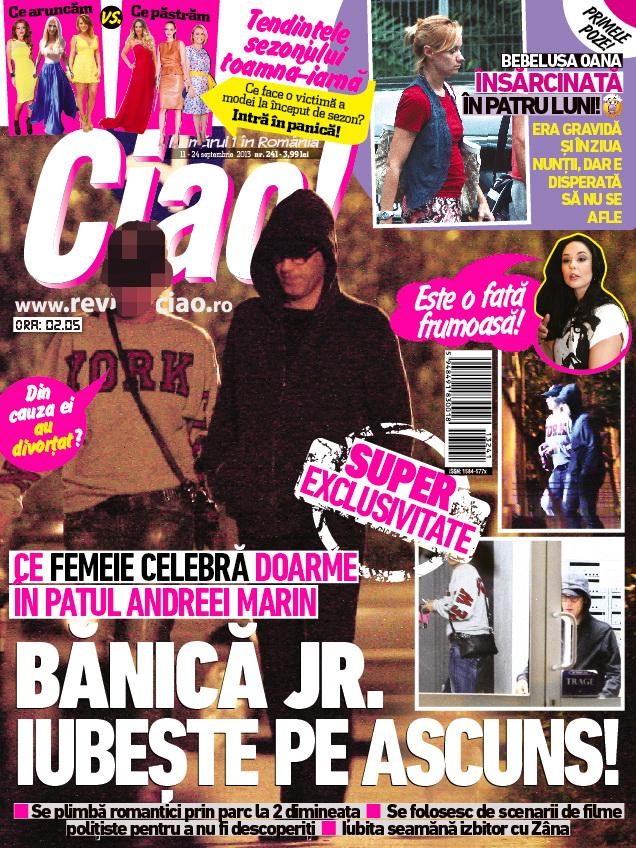 Revista Ciao! arunca bomba in numarul aparut astazi pe piata