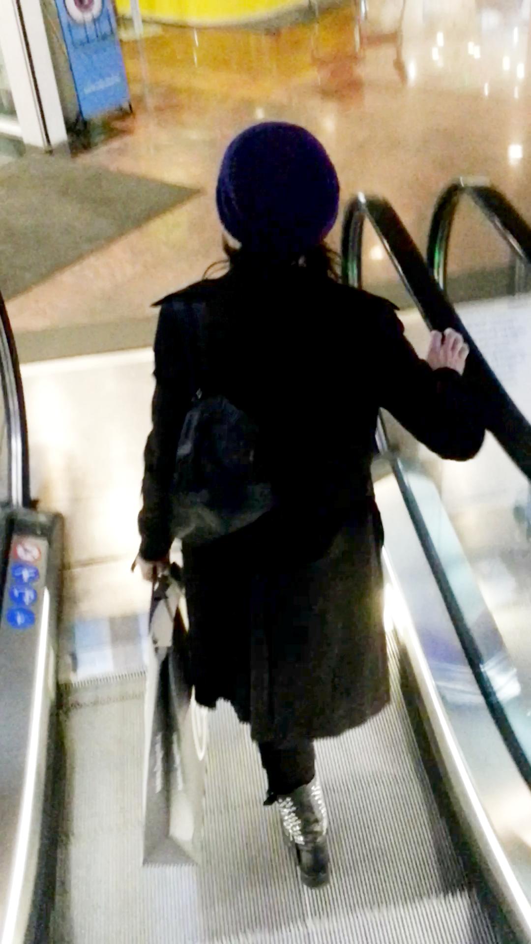 Oana pleaca grabita din centrul comercial