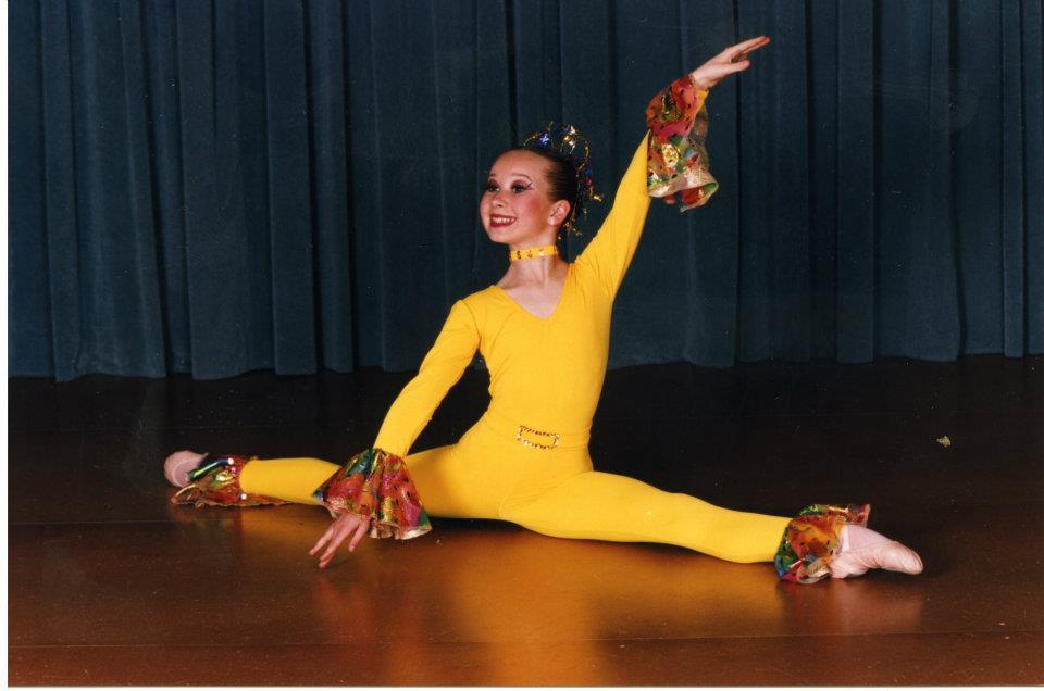 Timp de multi ani, Xonia a practicat baletul