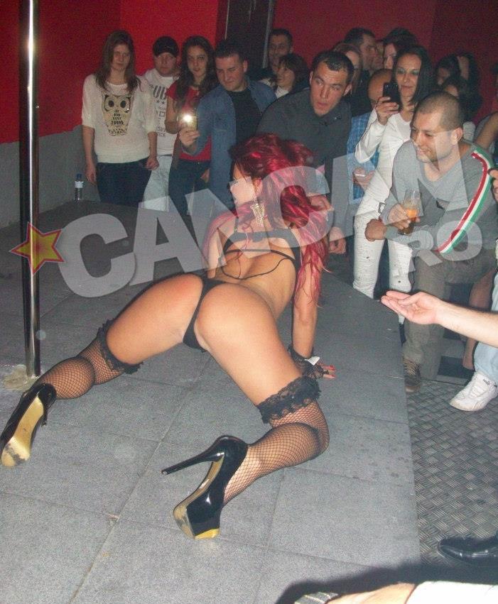 Pentru suma potrivita, Ana se dezbraca si danseaza in orice club