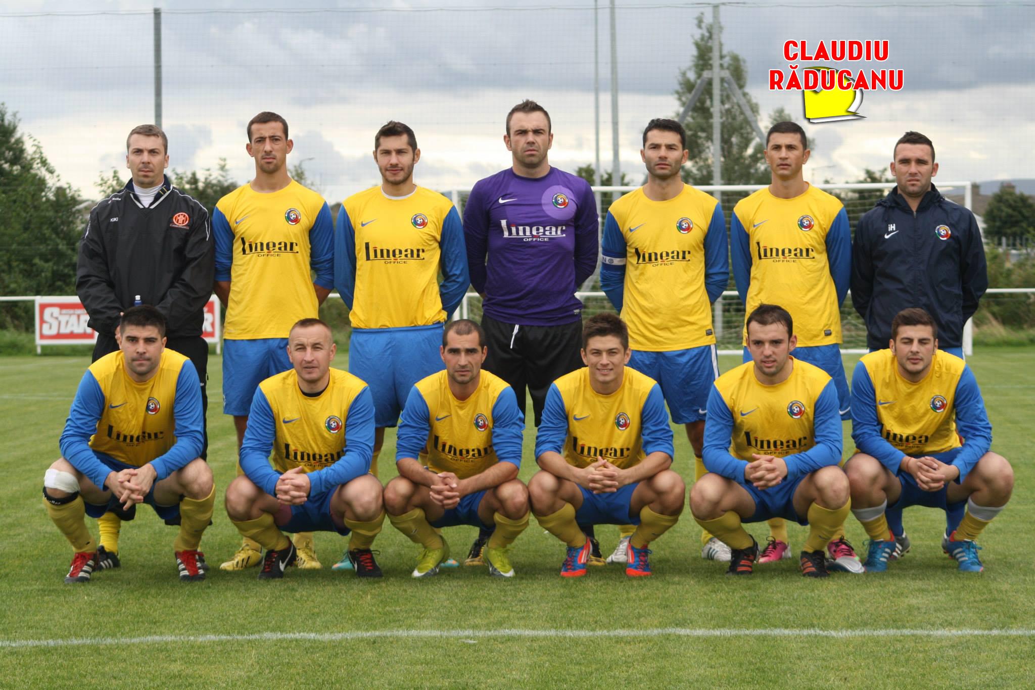 Claudiu Raducanu joaca acum la o echipa de amatori din Irlanda