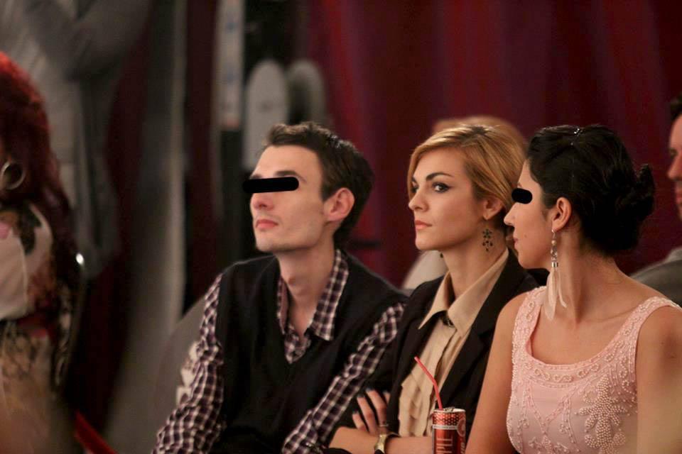 Madalina a fost prezenta la Bucharest Fashion Week
