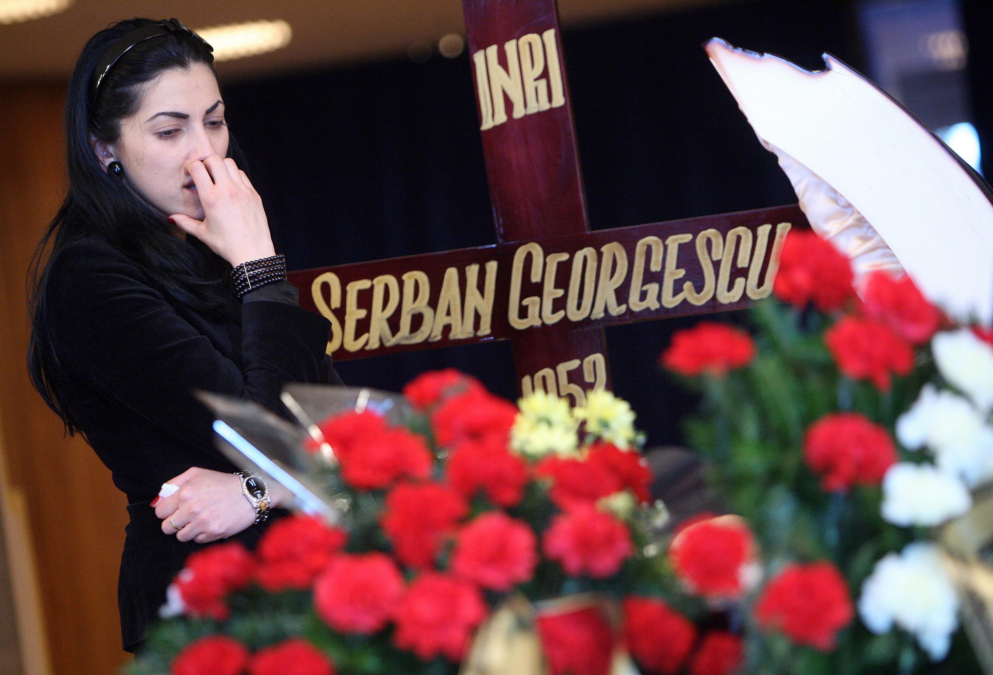 Eniko a suferit extrem de mult dupa moartea sotului ei, celebrul compozitor Serban Georgescu