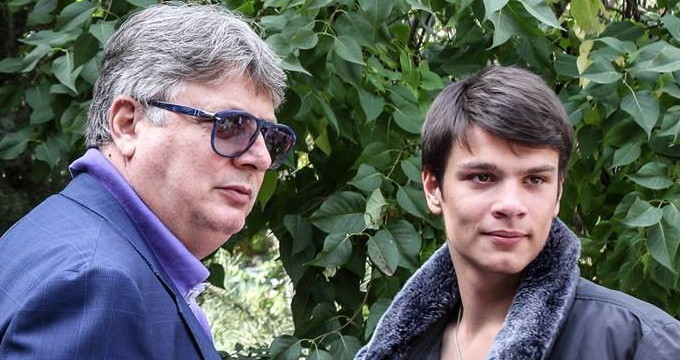 Gino Iorgulescu si fiul lui, Mario