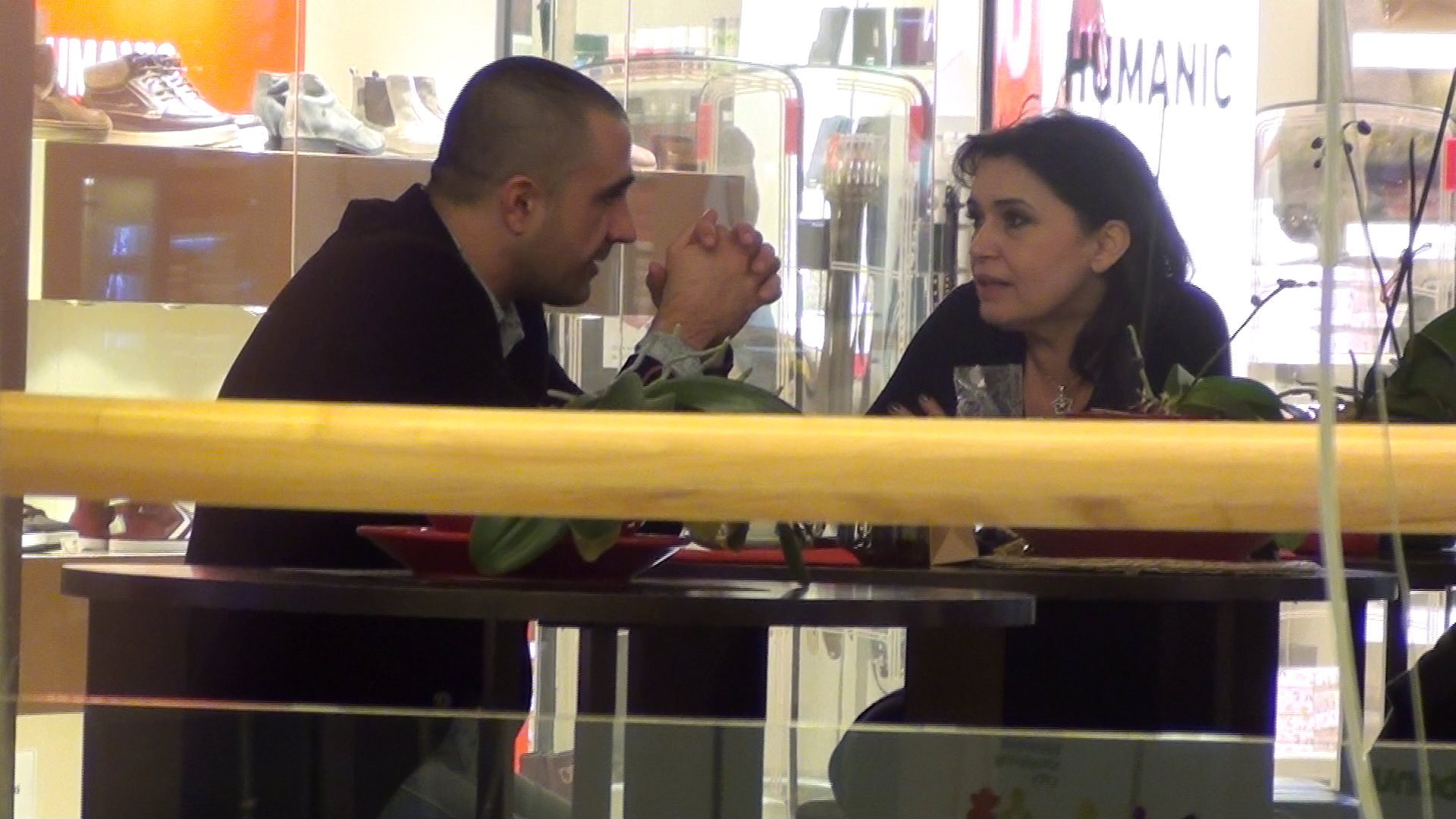 Geta Voinea, discutie aprinsa cu un barbat la mall