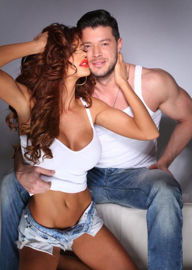 Bianca Dragusanu si Victor Slav