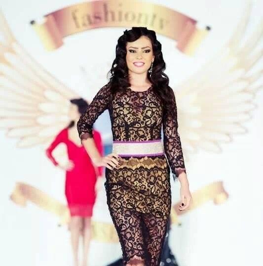 Rebeca e model si a defilat la Saptamana Modei de la Bucuresti