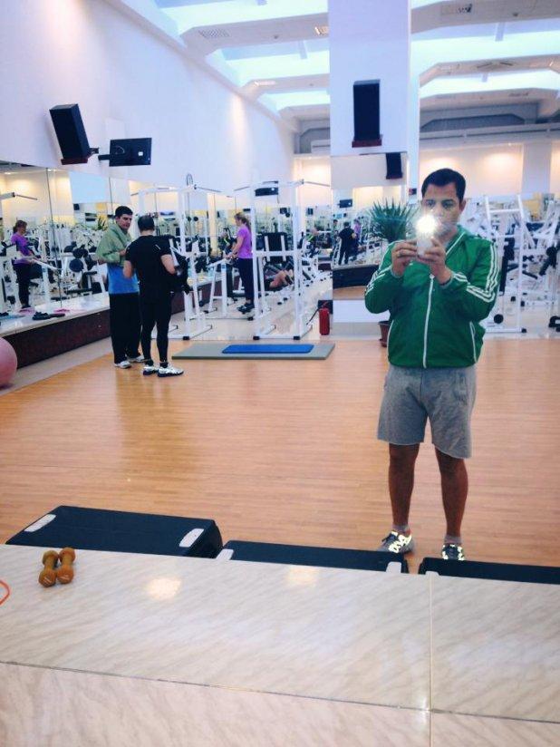 Jean de la Craiova merge foarte des la sala de fitness