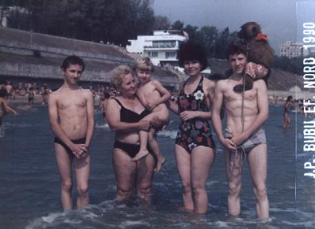 In adolescenta, Vasile Traistariu era un baiat plin de muschi, care atragea admiratia fetelor sursa: arhiva personala