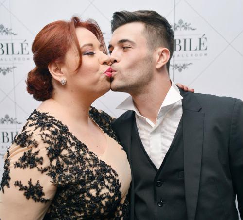 Oana Roman si iubitul ei