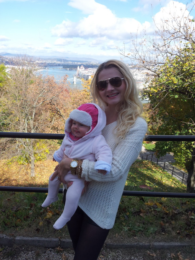 De cand a devenit mama, viata Iannei s-a schimbat radical sursa: arhiva personala