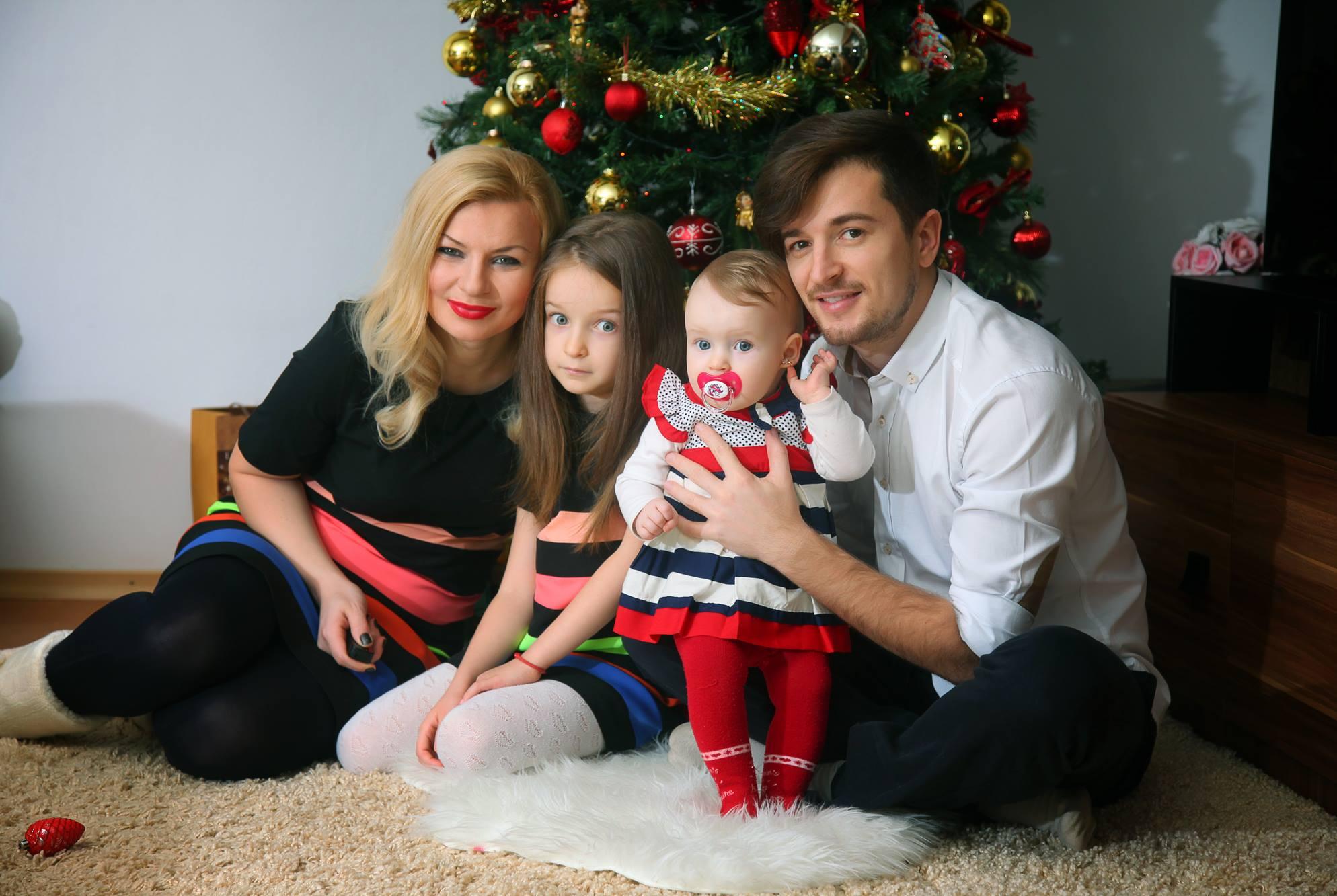Radu si sotia sa, Ana, sunt casatoriti de aproape zece ani si au impreuna doua fete sursa: arhiva personala