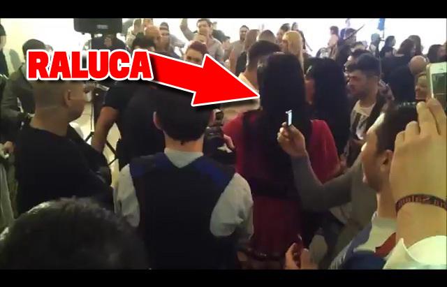 Raluca a fost prezenta la un concert sustinut de Salam in Germania