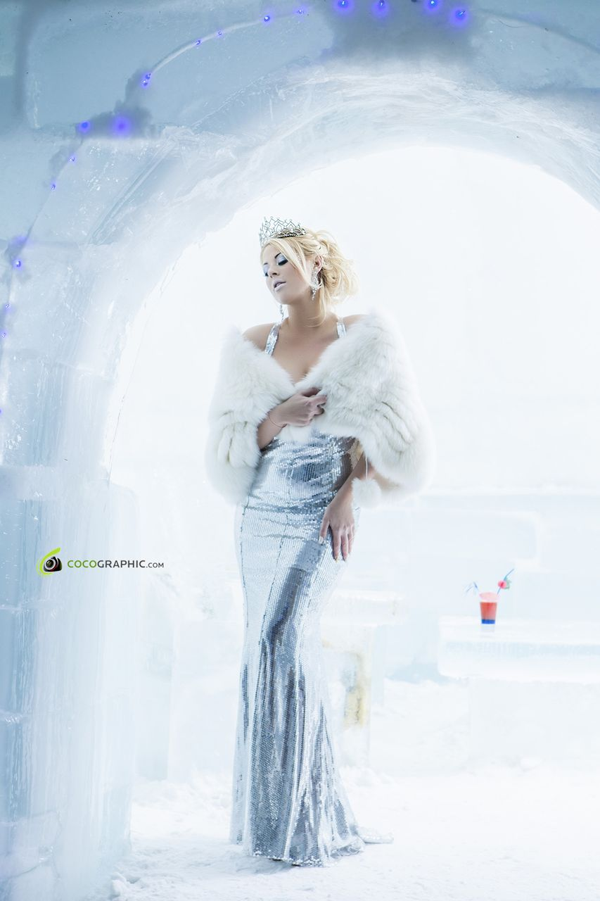 Roxana este de acum regina ghetii la Castelul de la Balea Lac sursa: Cocographic.com