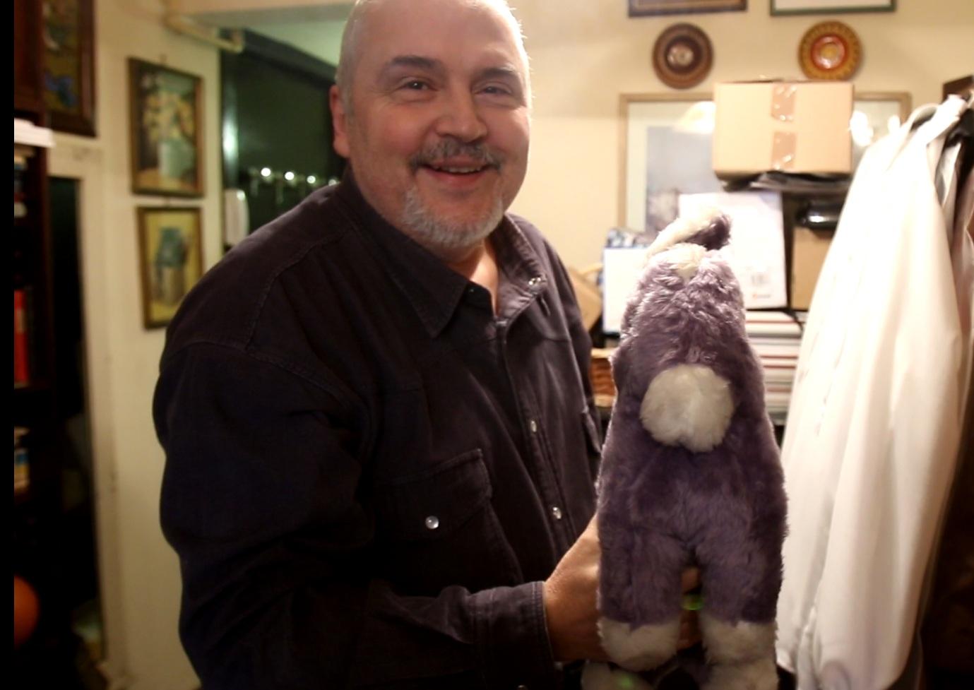 Eugen Cristea a scos de la naftalina magarusul care a facut istorie in televiziune