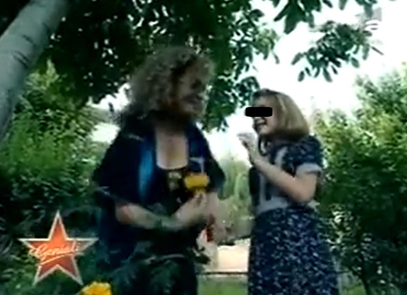 In urma cu multi ani Angela Similea a facut un duet cu nepoata sa