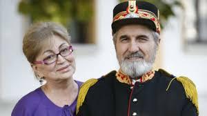 Gabi Dinica i-a fost intotdeauna alaturi sotului ei, regretatul Gheorghe Dinica sursa: ACASA TV