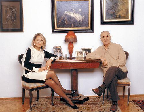 Gheorghe Dinica si sotia lui au format unul dintre cele mai frumoase si elegante cupluri sursa: viva.ro
