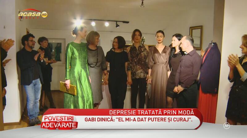 Anul trecut, Gabi Dinica si-a lansat propria colectie vestimentara, dar aceasta nu a avut prea mare succes