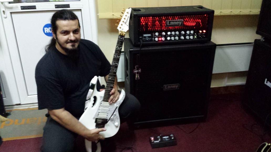 Cristi Gram este unul dintre cei mai buni chitaristi din tara foto: Facebook