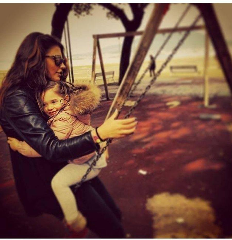Antonia si fiica ei se vad foarte rar