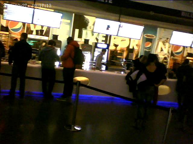 Cabral cumpara bilete la film