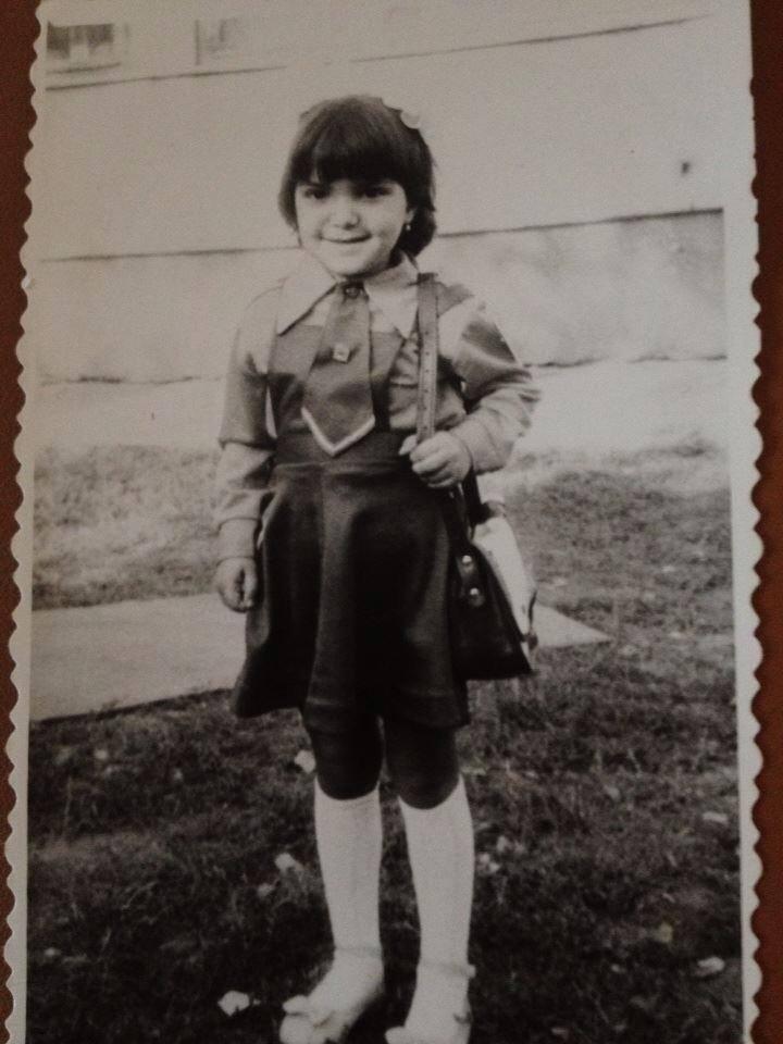 Andreea, in primii ani de scoala