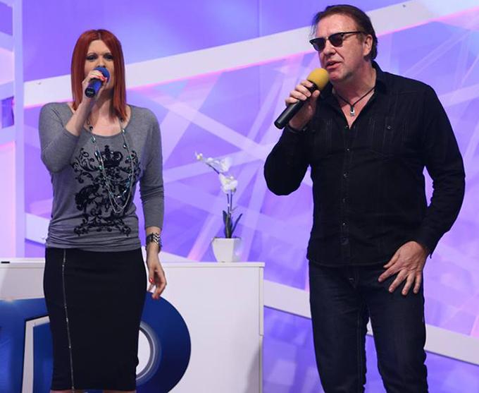 Anul trecut, Oana a cantat in duet cu Gabi Cotabita