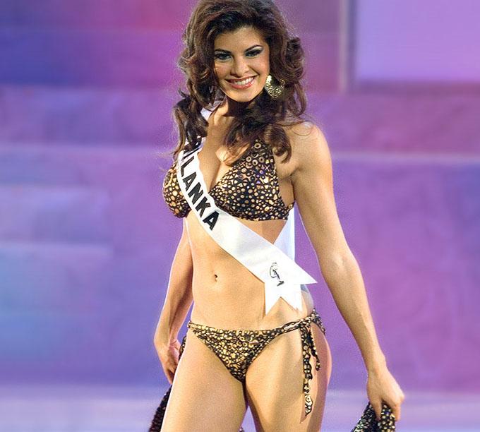 Jacqueline Fernandez a castigat in 2006 titlul Miss Sri Lanka