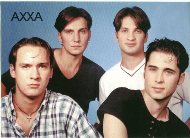 Mihai a facut parte din trupa Axxa