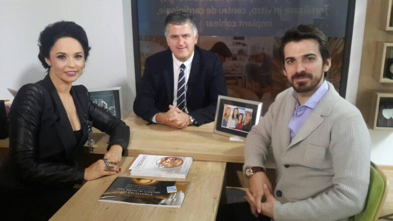 Tuncay, alaturi de Andreea Marin si medicul turc Enis Ozynar foto: Facebook