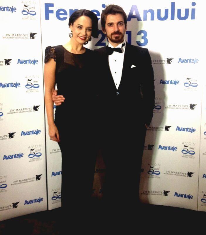 Andreea si Tuncay s-au casatorit la inceputul acestui an foto: Facebook