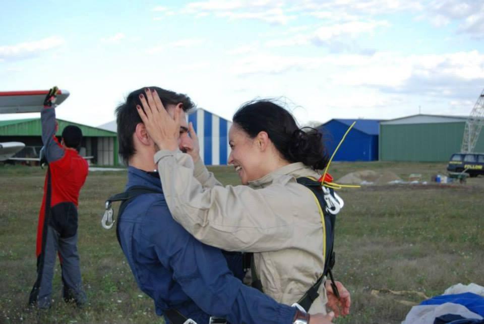 Tuncay si Andreea, doi oameni care traiesc viata la intensitate maxima foto: Facebook