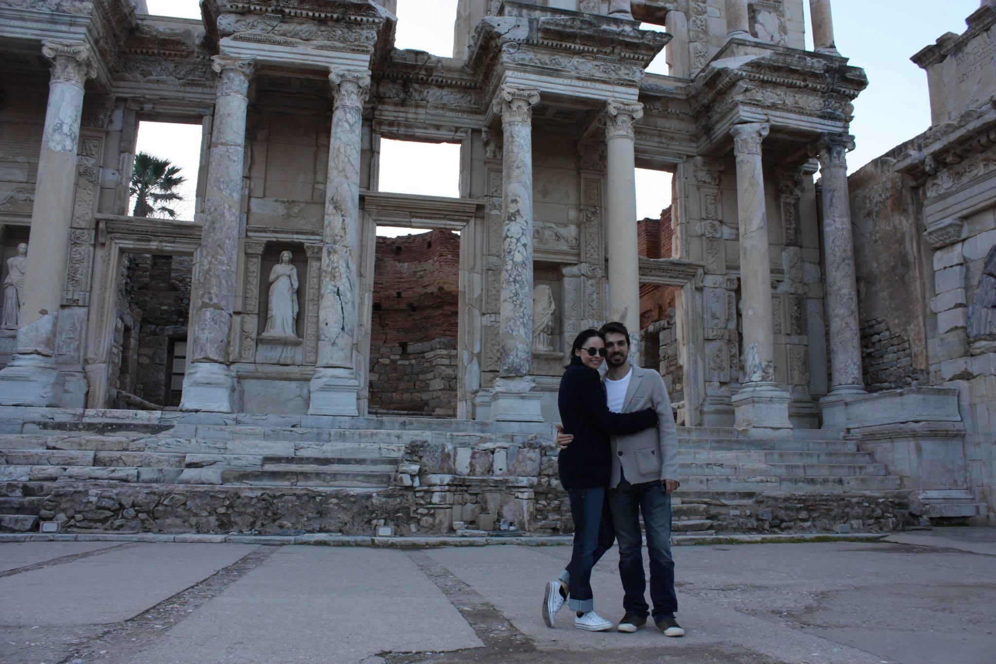 Tuncay si sotia sa profita impreuna de orice clipa libera foto: Facebook