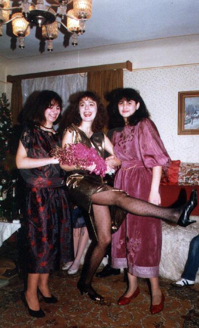 Dana era sufletul petrecerii inca din adolescenta