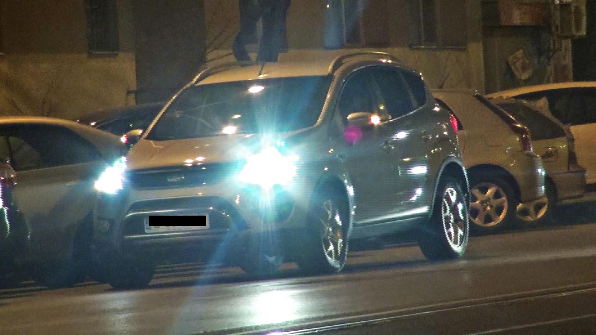 Dupa ce a plecat de la fast-food, Iulia s-a oprit in masina, probabil pentru a lua cina