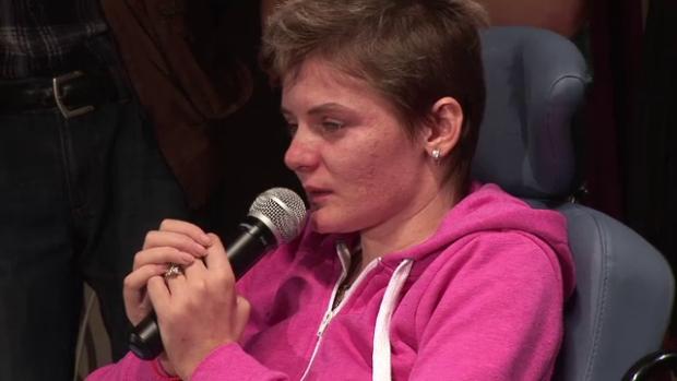 Cantareata a ramas paralizata in urma unui accident rutier