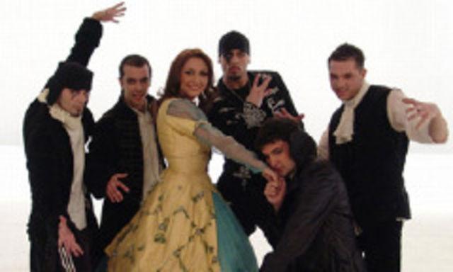 Andra si Simplu au participat la Eurovision in 2007, cu o piesa semnata Marius Moga foto: bestmusic.ro