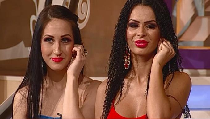Asa a aparut Renata in emisiunea Adrianei Bahmuteanu