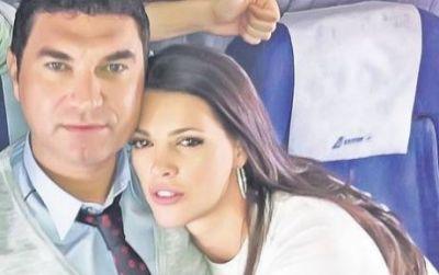 Cristi Borcea si sotia lui, Alina, se vad rar, cand sotia afaceristului are drept la vizite