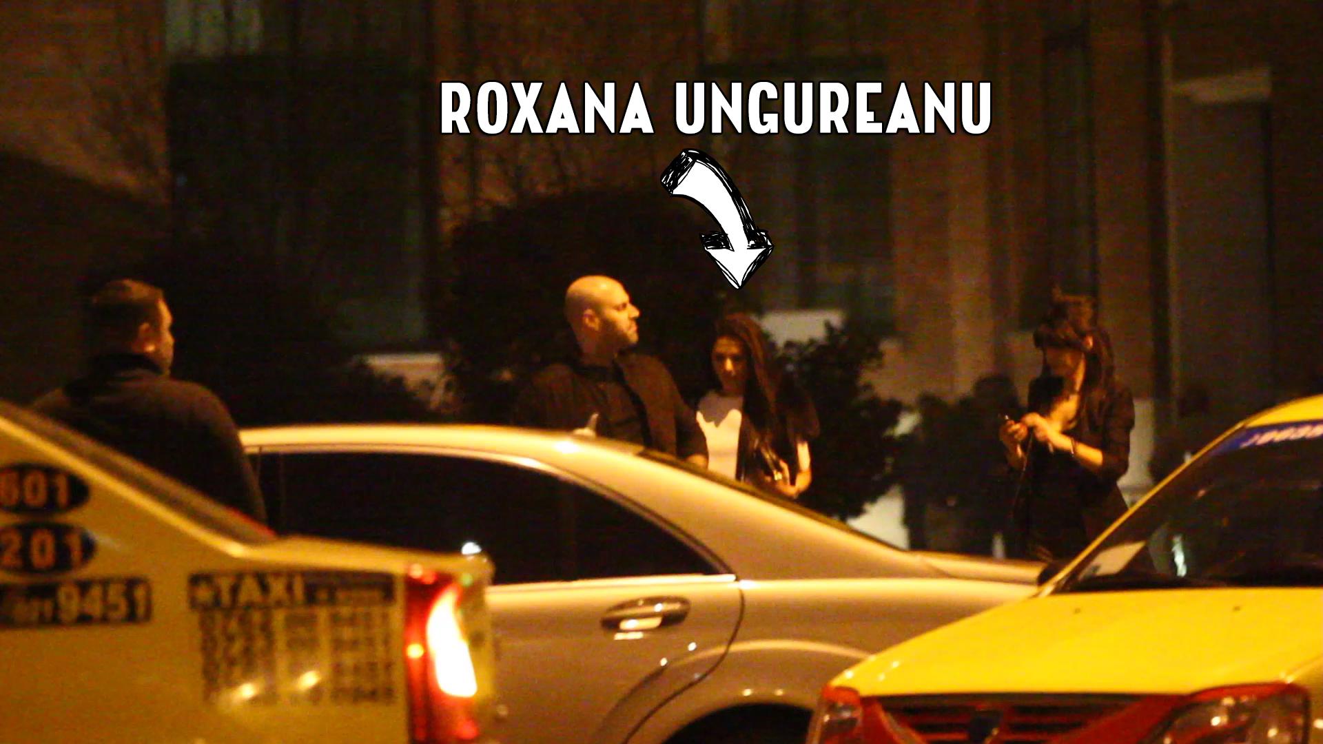 Nicola si Roxana Ungureanu au plecat din club si s-au dus direct la el acasa