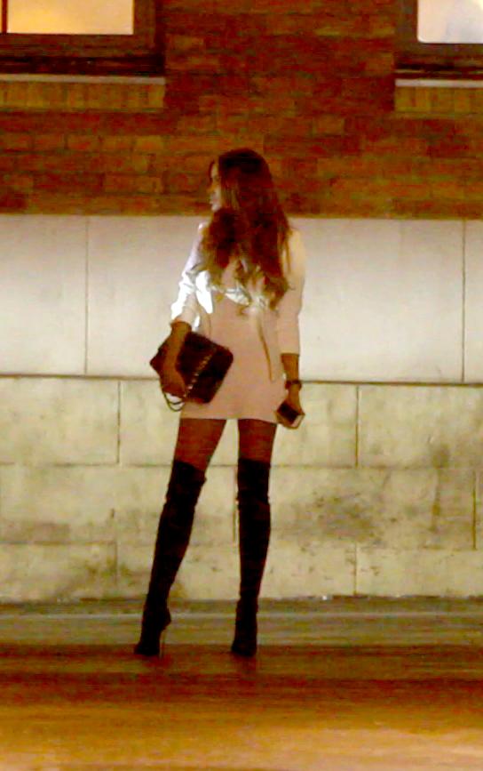 In urma cu doua saptamani, dupa ce Cristea a venit dupa ea in club, Bianca a plecat imediat