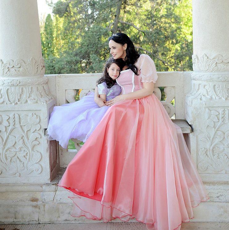 Andreea Marin are o relatie foarte apropiata cu micuta Violeta, fiica ei